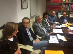 La presentazione ai vertici della sanità locale e regionale della casa d'accoglienza de L'Amore Donato onlus