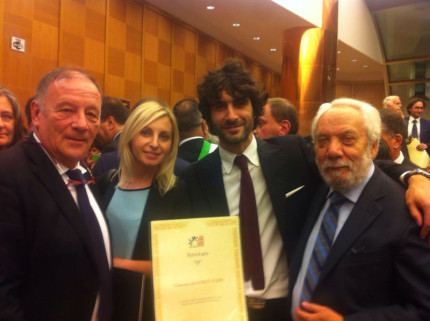 "Consegna premio ""American Friendly"""