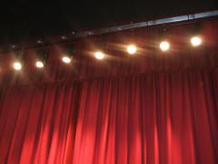 Teatro, palco, sipario