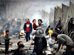 Migranti che hanno percorso la via dei Balcani