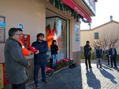 Inaugurato il defibrillatore a Serra de' Conti