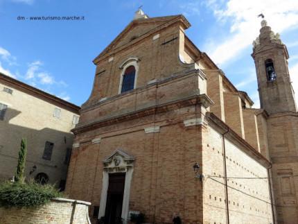 La chiesa di Santa Maria Goretti a Corinaldo