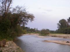 Il fiume Cesano tra Senigallia e Marotta