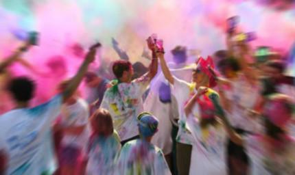 La Crazy Color Run a Corinaldo per la Festa dei Folli 2015