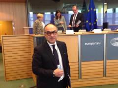 Massimo Bello all'Europarlamento di Bruxelles