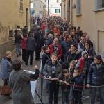Tanti i visitatori a Serra de' Conti per le giornate Fai di primavera