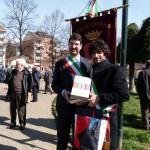 Sindaco Principi a intitolazione giardino a Maria Goretti