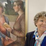 Dacia Maraini in visita al museo De' Nobili di Trecastelli