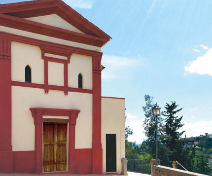 La chiesa di San Mauro Abate a Castel Colonna di Trecastelli