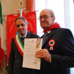 Trecastelli ha celebrato la festa della Liberazione, medaglia di benemerenza in memoria di Giuseppe Grossi