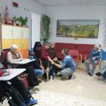 Incontro di Pet Therapy nella Casa dell'Ospitalità F. Marulli di O. Vetere