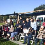 Uscita di Pet Therapy per gli ospiti della Casa dell'Ospitalità F. Marulli di O. Vetere al centro di addestramento di Corinaldo