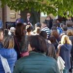 La cerimonia di intitolazione al prof. Lorenzo Mancinelli della scuola secondaria di primo grado a Castelleone di Suasa