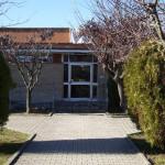 La scuola secondaria di primo grado (media) a Ripe di Trecastelli, sede centrale dell'istituto comprensivo Nori de' Nobili