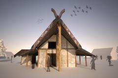 Archeologia: la ricostruzione, ad Arcevia, di un villaggio preistorico in località Monte della Croce