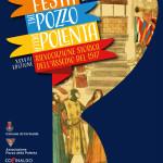 Il manifesto della festa del pozzo della polenta di Corinaldo 2016