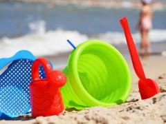 Colonie marine, giochi in spiaggia, sabbia, bimbi, bambini
