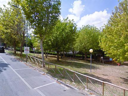 I giardini Nicholas Green, in via Aldo Moro a Ostra