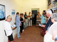 """La mostra """"Gnosis"""" del pittore Marco Pascarella, inaugurata al Centro culturale San Francesco di Arcevia"""