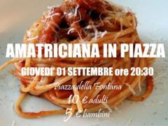 """Amatriciana in piazza"""