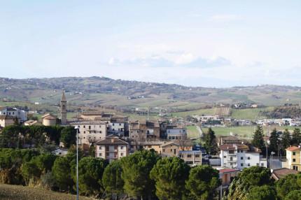 Il panorama di Castelleone di Suasa