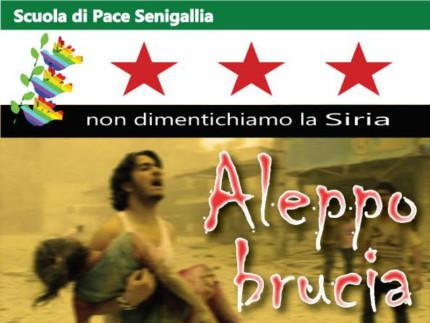 Aleppo brucia: mobilitazione Scuola di Pace Buccelletti di Senigallia