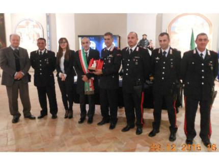 Carabinieri premiati a Ostra Vetere con il Premio San Giovannino 2015