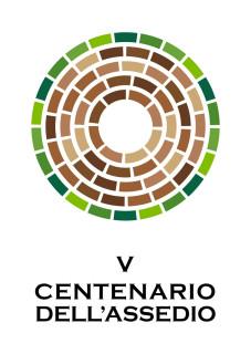 Il logo per il V Centenario dell'assedio di Corinaldo