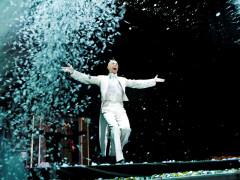 Arturo Brachetti sul palco