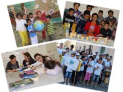 Alcuni momenti e attività al Centro Interculturale Le Rondini di Senigallia