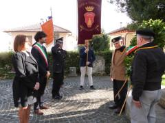Festa del IV Novembre a Corinaldo, celebrato il 98° anniversario dell'Unità Nazionale d'Italia e la Giornata delle Forze Armate