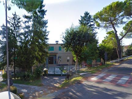 """La scuola dell'infanzia """"Biancaneve"""" a Ostra, tra viale Leopardi e via Carducci"""