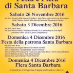 Iniziative per Santa Barbara 2016