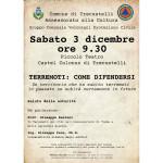 a Castel Colonna un incontro su come difendersi dal terremoto
