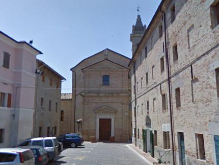 La chiesa di San Giacomo Maggiore, a Monterado di Trecastelli
