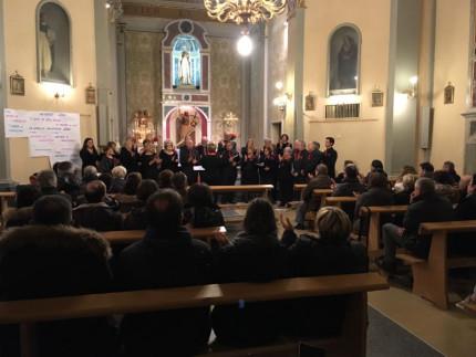 """Grande partecipazione di pubblico per il concerto """"Note di Natale"""" nella chiesa di San Giacomo Maggiore a Monterado di Trecastelli"""