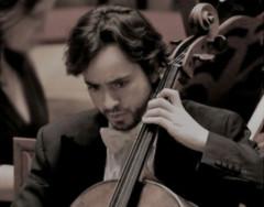 Il violoncellista Claudio Pasceri