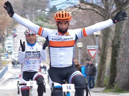 Master di ciclocross a Barbara: Luca Michettoni, seguito da Rosario Pecci, si aggiudica la seconda gara