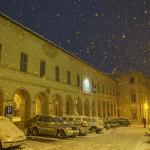 La neve a Serra de' Conti. Foto di Carlo Ceresani