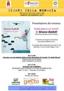 Volantino per la Giornata della memoria 2017 a Corinaldo