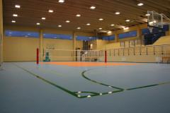 Il palazzetto dello sport di Castelleone di Suasa (interno)