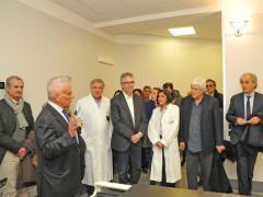 L'inaugurazione della clinicica psichiatrica all'ospedale di Torrette di Ancona
