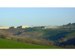 La discarica di Corinaldo, nella zona di San Vincenzo