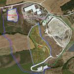 Il progetto di ampliamento della discarica di Corinaldo, nella zona di San Vincenzo