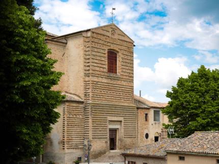 La chiesa di S. Francesco a Corinaldo