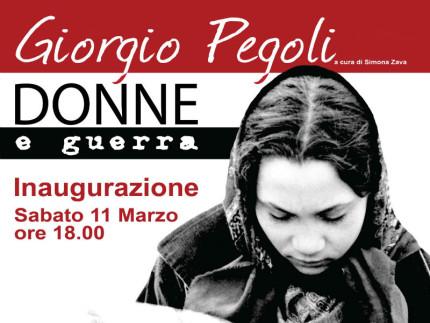 Donne e guerra, mostra fotografica di Giorgio Pegoli a Trecastelli
