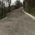 Asfaltata via San Rocco nella municipalità di Castel Colonna (Trecastelli) dopo le frane di fine 2016