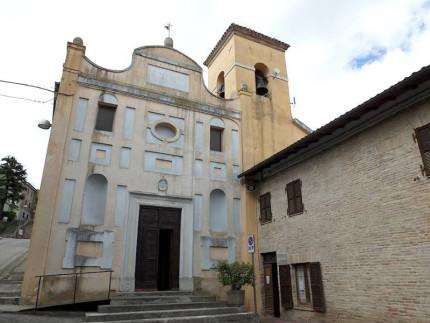 La chiesa comunale di San Francesco di Paola a Castelleone di Suasa