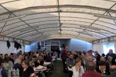 Grande successo a Trecastelli con il pranzo di solidarietà per la popolazione di Montefortino