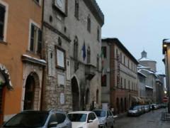 Corso Mazzini, ad Arcevia